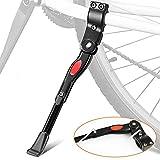 Adjustable Bike Kickstand Aluminum Alloy Bicycle Side Kickstand Fits for 24' 25' 26' 27' Mountain Bike/700c Road Bike/BMX/MTB