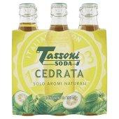 Tassoni - Cedrata Soda, 180 ml (Pacco da 6) - [confezione da 2]