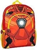 Marvel Mochila para Niños Iron Man Rojo