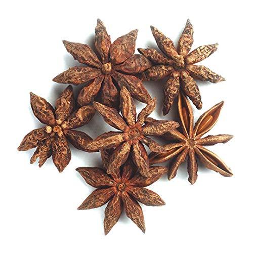 Frontier Co-op Star Anise Whole, Select Grade (minimum 75% whole stars), Certified Organic, Kosher   1 lb. Bulk Bag   Illicium verum Hook. f.