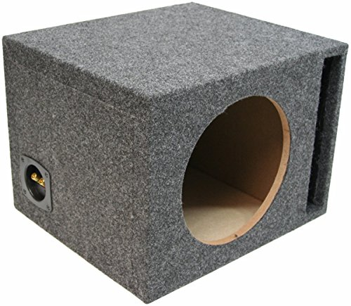 Car Audio Single 15' Vented Subwoofer Stereo Sub Box Ported Enclosure 5/8' MDF