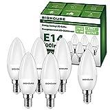 Ampoules LED E14 C37, 4W, équivalent à une ampoule à incandescence 50W,...