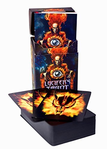 Lucifer's Tarot, Classic Edition. Set of 105 Tarot Oracle...