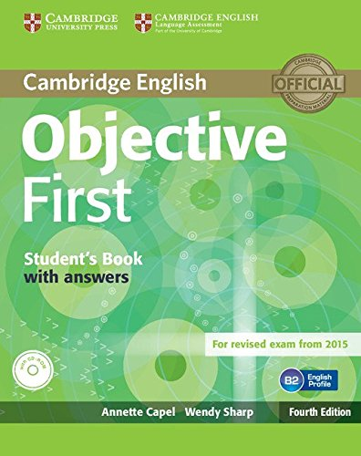 Objective First Student's Book with Answers with CD-ROM Fourth Edition