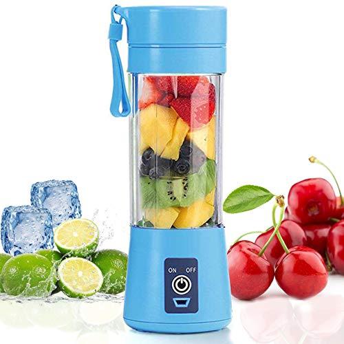 Mini mélangeur portatif, Topspitgo taille personnelle mélange de fruits...