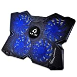 KLIM™ Wind Laptop Cooling Pad - Support 11 to 19 Inches Laptops, PS4 - [ 4 Fans ] -...