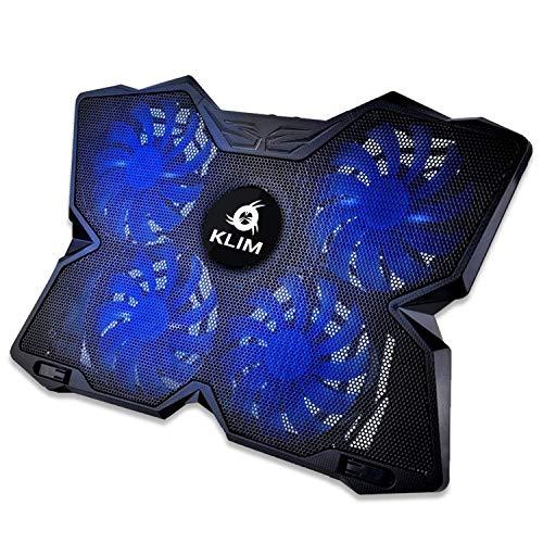 KLIM™ Wind + Base de refrigeración para portátil + La más Potente...