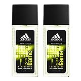adidas Pure Game Men'S Fragrance Regular 75Ml, Pack Of 2, 2.5 Fl Oz