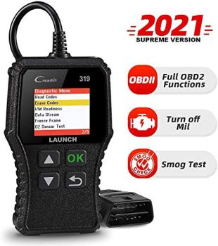 LAUNCH CR319 Code Reader Automotive Engine Fault MIL Turn Off Scanner, Full OBD2 Functions CAN Diagnostic Scan Tool (CR319)