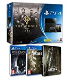 Contenu : Console PS4 500 Go Noire + The Order 1886 Fallout 4 + steelbook - exclusif Amazon Dishonored - Definitive Edition