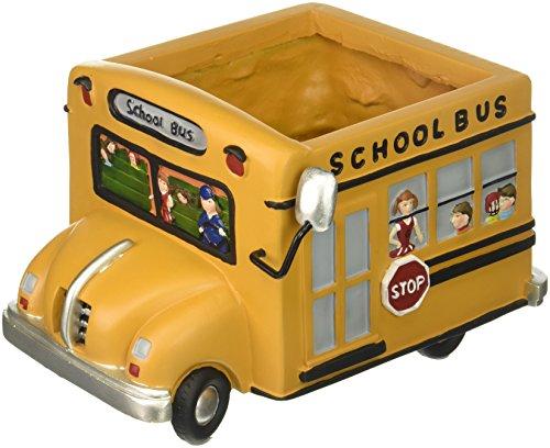 Adorable School Bus Planter Great Gift for Teachers, School...