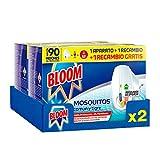 Bloom Insecticida Doble Eficacia Electrico Líquido para mosquitos común y...
