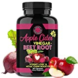 Angry Supplements Apple Cider Vinegar + Beet Root Capsules, Detox Pills, Nitric Oxide + Energy...