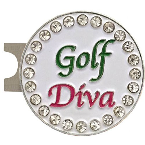 Giggle-Golf-Par-3-Golf-Towel-Tee-Bag-with-4-Tees-and-Bling-Ball-Marker-with-Hat-Clip-Perfect-Golf-Gift-for-Women-Golf-Diva