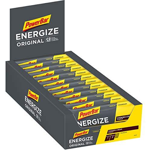 Powerbar Energize Original Cookies & Cream 25x55g-Barra