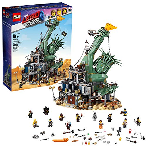 LEGO THE LEGO MOVIE 2 Welcome to Apocalypseburg; 70840 Building Kit (3178 Pieces)