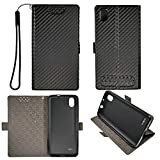 Case for Zte Blade T2 Z559dl T2 Lite 5' Case TPU Soft + Flip Cover Stand Shell Black