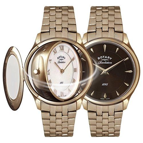 Rotary Damen Uhr Analog Quarz Mit Edelstahl LB02974/25/41