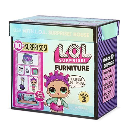 Image 5 - LOL Surprise Poupées collectionnables pour filles - Avec 10 surprises et accessoires - Roller Sk8er - Mobilier Series 3