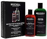 Brickell Men's Set per la cura quotidiana del viso - Detergente per la pulizia del viso e Lozione idratante per il viso - Naturale e Organica