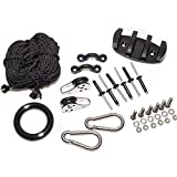 FAYUE Kayak Canoe Anchor Trolley Kit with Rope