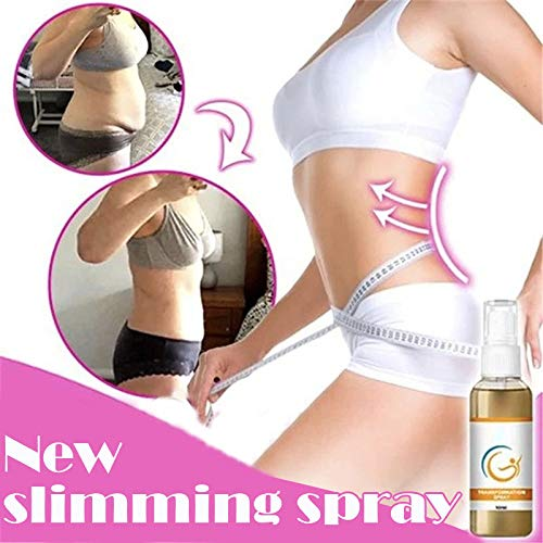 HUQUAN Body Slimming Spray, 10ml FitPlus Transformation Spray Weight Loss Body Belly Cream Fat Burner Professional Cellulite Slimming Spray for Women Men Weight Lose 6
