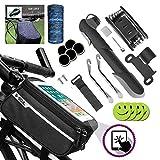 Sacoche Cadre de vélo,Support smartphone pour Ecran Tactile ,Trousse...