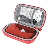 Étui de Voyage Rigide Housse Cas pour HP Sprocket Imprimante Photo Portable par co2CREA (Noir)...