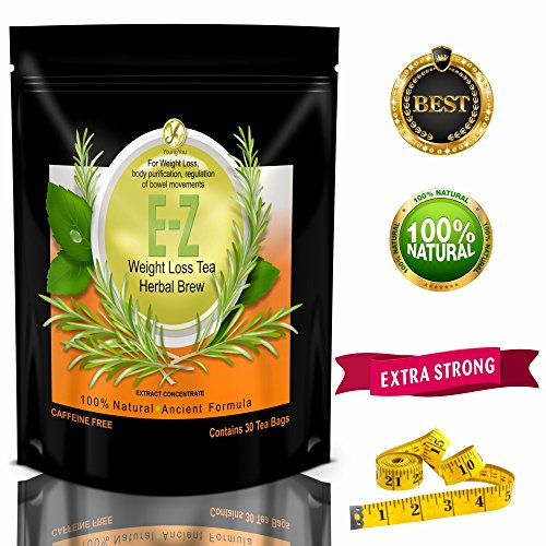 E-Z Detox Tea for Weight Loss and Belly Fat - Appetite Control - Body Cleanse – Detox 3 Pack 2