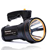 Eornmor High Power Outdoor Handheld Portable Flashlight Rechargeable 6000 Lumens Super Bright LED...