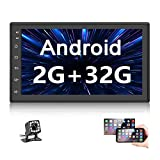 Double Din Car Radio GPS Navigation Android Head Unit 7' HD Touch Screen Indash Car Stereo Support...