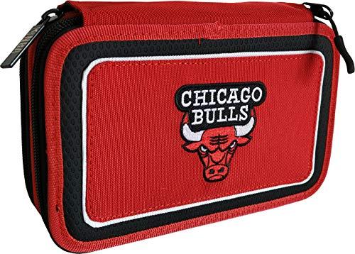 NBA CHICAGO BULLS ASTUCCIO 3 ZIP COMPLETO 62612