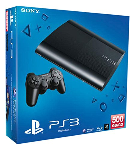 PlayStation 3 - Konsole Super Slim 500 GB (inkl. DualShock 3 Wireless Controller) - [Edizione: Germania]