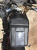 SaharaSeats Honda CB Unicorn Mobile Pocket Tank Cover for All Models/150/160 (Black)