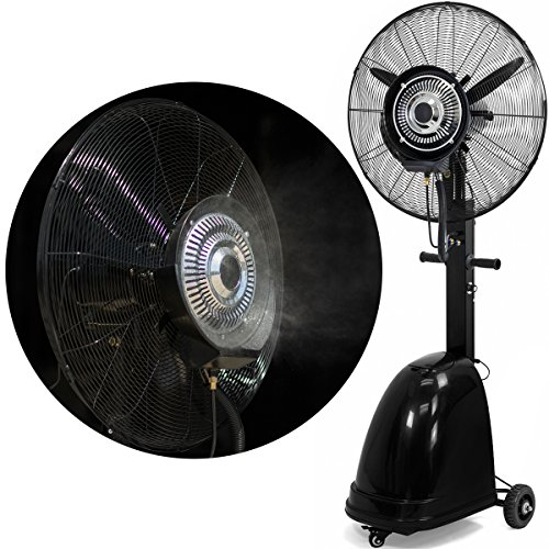 Stark High Power Misting Fan Metal 26' Oscillating Mist Fan Cooling Warehouse...