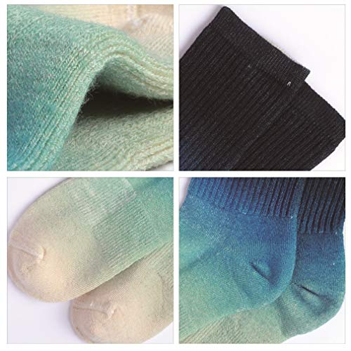Enerwear-Coolmax-4P-Pack-Womens-Merino-Wool-Outdoor-Hiking-Trail-Crew-Sock