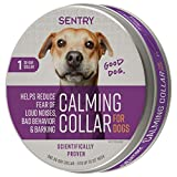 SENTRY Pet Care Calming Collar for Dogs 1Ct, Purple, Model:5321