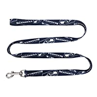 Officially licensed NFL, MLS, NHL, NCAA products 100% polyester webbing Strong and durable, hold up to the most playful of pets Colorful pattern printed on both sides completes a fan-favorite look Please see size chart to measure and select the right...