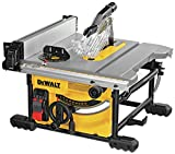 DEWALT DWE7485 8-1/4 in. Compact Jobsite Table Saw