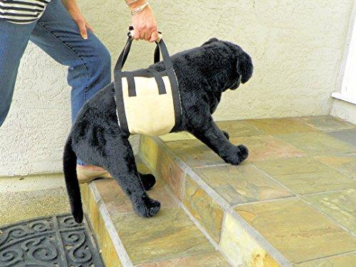 KomfyFleece Dog Mobility Sling Lift Harness, 10 by...