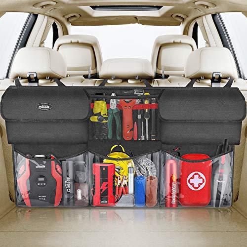 oasser Kofferraum Organizer Auto mit Wasserdichten Taschen Auto Organizer Kofferraumtasche Autotasche Kofferraumtasche Verpackung MEHRWEG