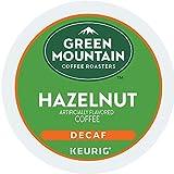 Green Mountain Coffee Roasters Hazelnut Decaf Keurig Single-Serve K-Cup Pods, Light Roast Coffee, 72 Count