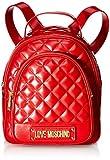 Love Moschino - Borsa Quilted Nappa Pu, Bolsos mochila Mujer, Rojo (Rosso), 29x30x12 cm (W x H L)