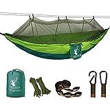 Fieleer Hamac de Camping avec Moustiquaire Ultra-léger Portable | avec...