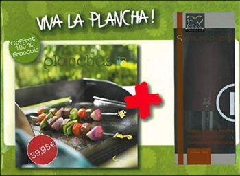 Coffret Viva la plancha (+ moulin à poivre Peugeot)