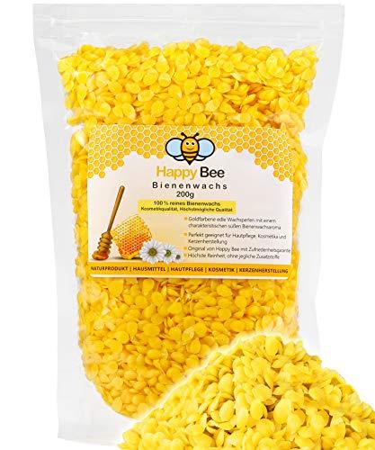 100% puras pastillas de cera de abeja - 200 gramos - Perfecto para la producción de cosméticos y velas