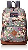 JANSPORT City View Backpack -15-inch Laptop School Pack, Grey Bouquet