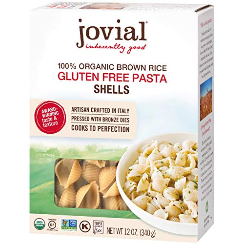 Jovial Organic Brown Rice Shells