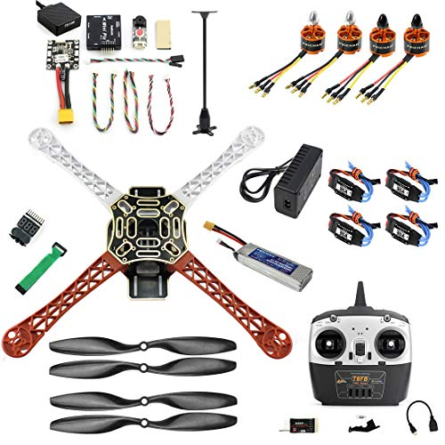 FEICHAO FAI DA Te Drone F450 Mini RC Hexacopter Disassemblare Kit 2.4G 8CH FPV Upgrade con Radiolink Mini PIX M8N GPS Altitude Hold Modello