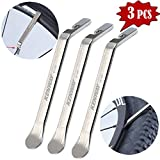 Tragoods Premium Bicycle Tire Lever Tyre Spoon Iron Changing Tool, Bike Tire Levers Premium Stainless Steel Levers to Repair Bike Tube, Best Tire Changing Tool, Set of 3
